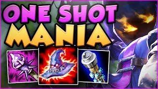 NEW BUFFED DEATHCAP + MAX AP VEIGAR = ONE SHOT MANIA! VEIGAR TOP GAMEPLAY! - League of Legends
