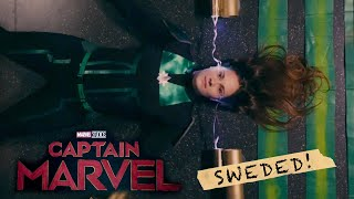 Captain Marvel trailer sweded