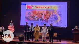 Các tu sĩ Việt Nam đến Mỹ vận động cho nhân quyền và tự do tôn giáo tại Việt Nam