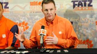 Download Clemson introduces new offensive coordinator Chad Morris 3Gp Mp4