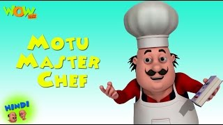 Download Motu Master Chef - Motu Patlu in Hindi - 3D Animation Cartoon for Kids 3Gp Mp4