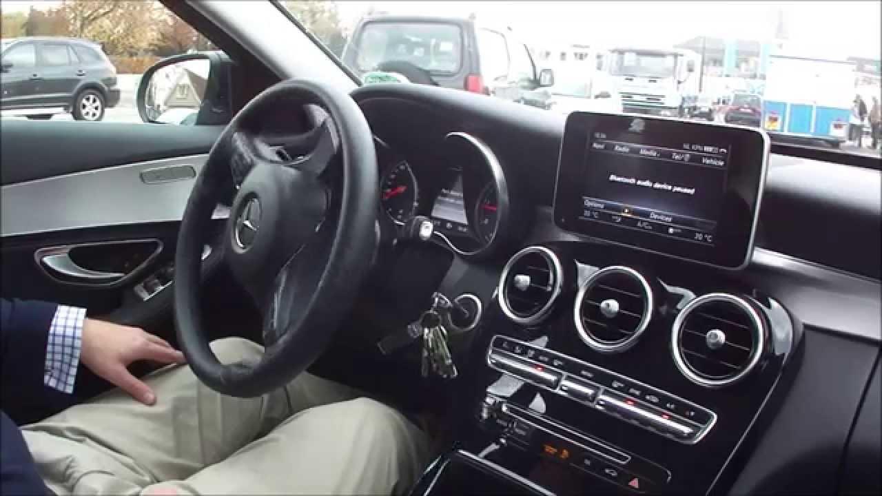 Mercedes Benz C220 Cdi Active Parking Assist Youtube