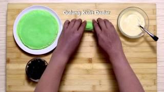 Dapur Umami - Pandan Roll Kismis