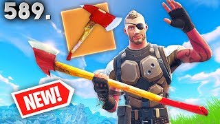 ONLY ONE PLAYER HAS THIS PICKAXE IN GAME!! *NEW PICKAXE??* Fortnite Funny and Daily Moments Ep.589