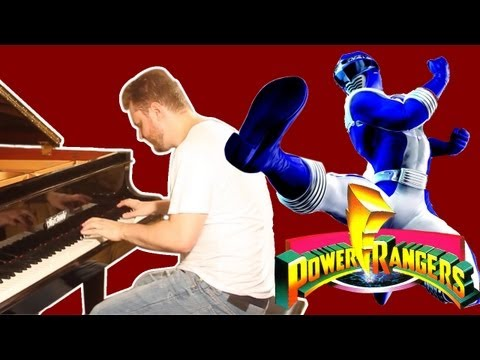 Power Rangers Music on Piano - Mighty Morphin Theme song