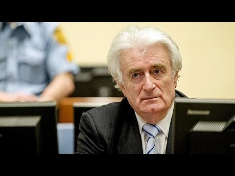 Radovan Karadzic guilty of genocide for his involvement at Srebrenica