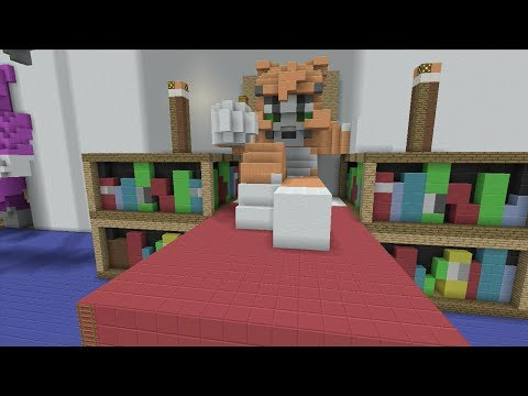 Minecraft (Xbox 360) - Stampy's Bedroom - Hunger Games klip izle