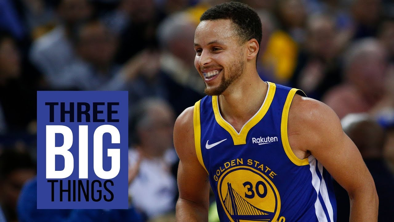 3 BIG THINGS: Warriors' Stephen Curry playing like a MVP and Draymond's return