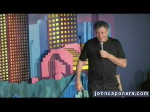 John caponera comedy routine on the movie Taken