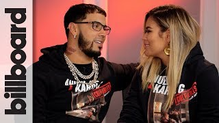 Anuel Aa Karol G Discuss Touring Together Their First Kiss On Stage More Billboard