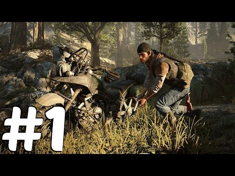 Days Gone (PS4) - Gameplay Walkthrough Part 1 - Demo E3 2016 Presentation [1080p HD]