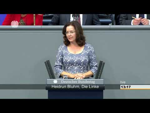 Heidrun Bluhm, DIE LINKE: Signal des Stillstands