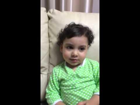 Армянская девочка 1,5 годика очень смешно говорит люблю!!! Armenian funny little girl.