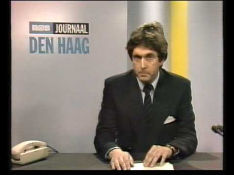Overlijden Joop den Uijl  - NOS Journaal 1987
