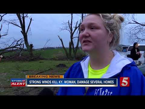 Woman Killed During Storm In Logan County, Kentucky
