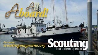 Seattle Sea Scouts set out on a 700-mile voyage to Ketchikan, Alaska