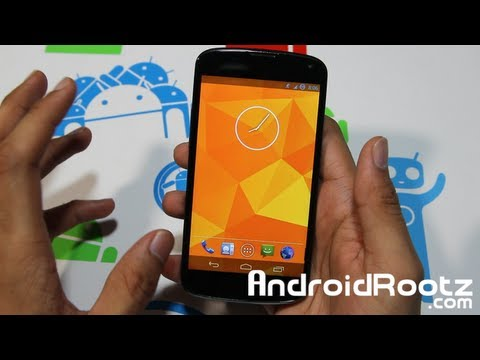 PAC Man ROM Review for Nexus 4! [Paranoid Android] [CM10.1] [AOKP]