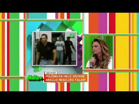 Viviane Araujo detonando Belo no programa de Adriane Galisteu