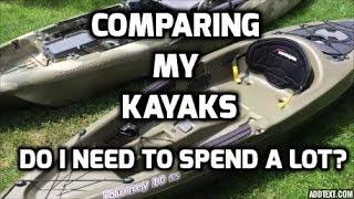 Kayak Comparison