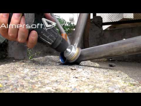 Покраска велосипеда из баллончика своими руками