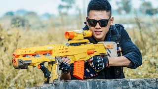 LTT Nerf War : SEAL X Warriors Nerf Guns Fight Criminal Dr Mundo Rescue New Warriors