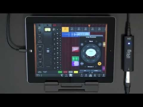 Recording on your iPad - AmpliTube Studio DAW app inside AmpliTube for iPhone iPad iPod touch