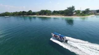 Cayos de Belice con phantom 3 advanced