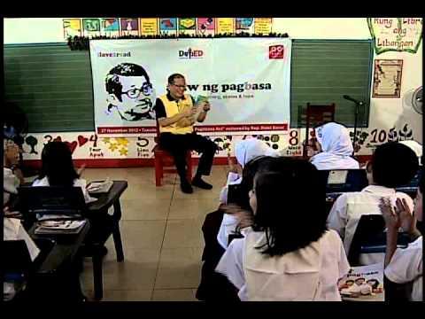 Araw ng Pag(b)asa Storytelling Session 11/27/2012
