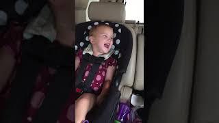 Baby's 1st ride thru the car wash