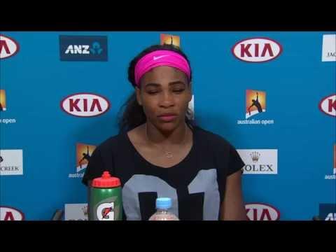 Serena Williams press conference (3R) - Australian Open 2015