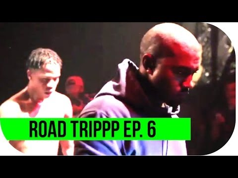 ROAD TRIPPP Ep. 6 -- Kanye West, Tyler, the Creator, & Schoolboy Q hit the stage with Casey Veggies