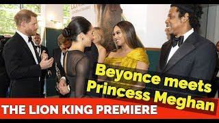 The Lion King Premiere - Beyonce Princess Meghan Markle, Jay Z Prince Harry