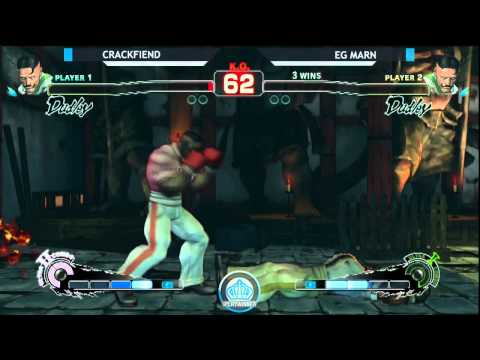 NCR8: Crackfiend (DU) vs EG Marn (DU) - SSF4 Pool Play