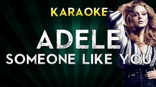 Adele Someone Like You Karaoke Instrumental Sing Along