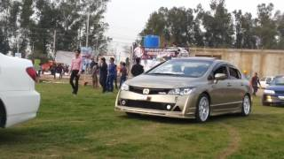 Modified Cars Entry At PGC Motor Show