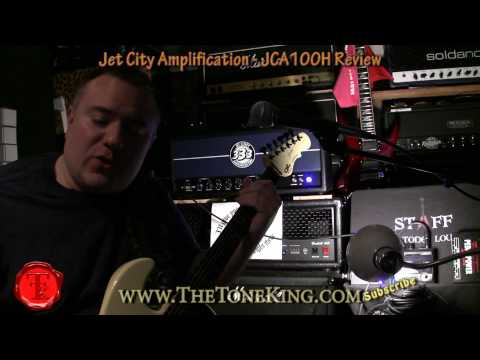 Jet City Amplification - JCA100H - 100W All Tube Head - TTK Review