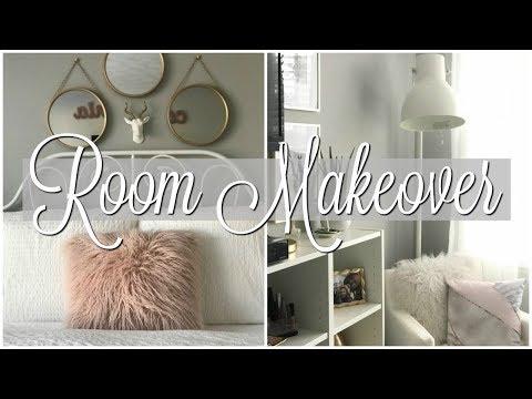 Teen Girl  Bedroom Makeover/Tour