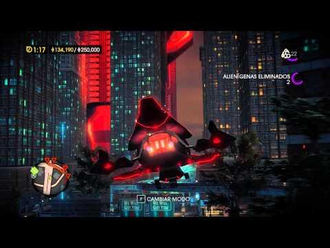 Gameplay | Saints Row IV | Naves espaciales, alienígenas, súper poderes y más...!