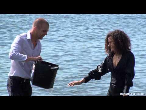 Wetlookcouples 039 Rebecca and Maurizio