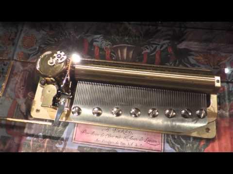 72 note Sankyo Moldau Music Box