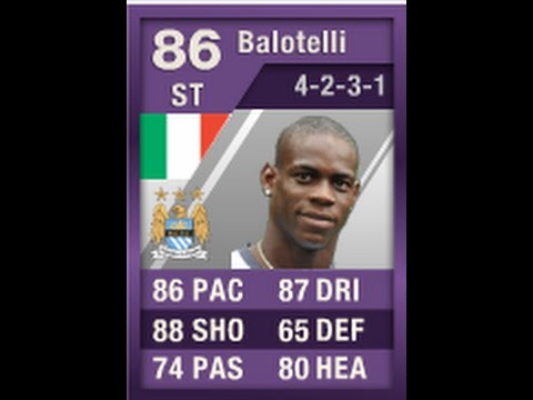 FIFA 12 iMOTM BALOTELLI 86 Player Review & In Game Stats Ultimate Team