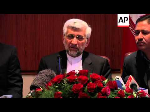 Tehran's top negotiator visits, says his country ready for nuclear talks