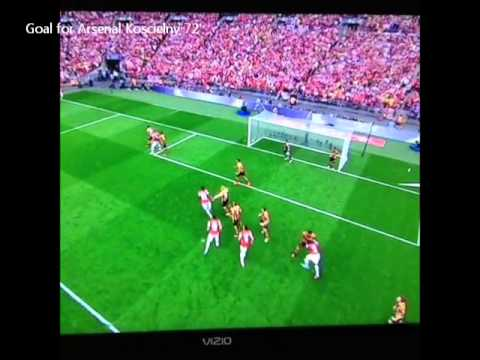 Arsenal vs Hull City (3-2) 18.5.2014 All Goals & Highlights FA Cup Final. #VINE