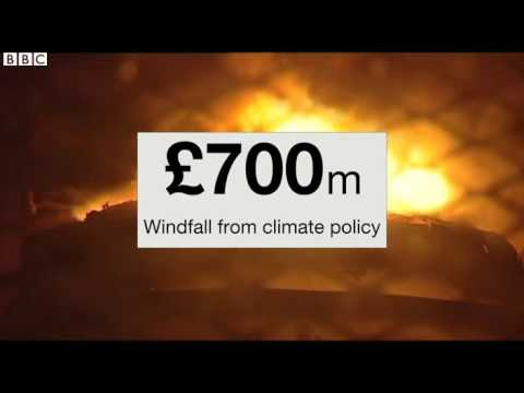 How Tata Steel made millions from EU pollution permits   BBC News