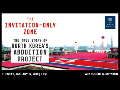 Robert Boynton speaks to abductions of Japanese citizens by North Korean agents