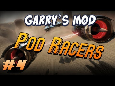 Garrys Mod Pod Racers Part 4 - Pre-flight checks