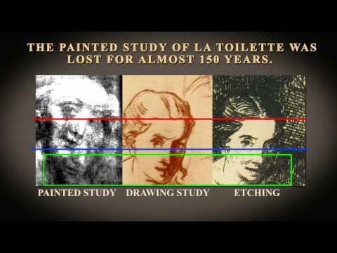Edouard Manet's La Toilette series is finally united/Part - 3