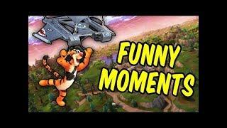 Fortnite Battle Royale Grappige momenten #1