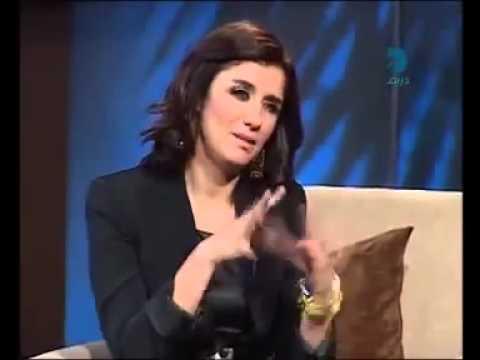 غادة عادل تتكلم اللهجه الليبيه