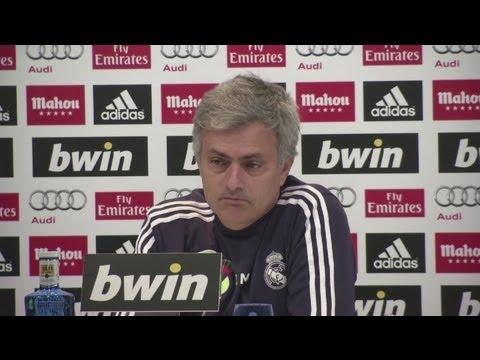 Borussia Dortmund vs Real Madrid - Champions League - Jose Mourinho Previews Semi Final